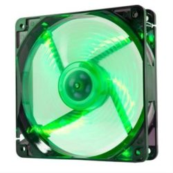 VENTILADOR NOX COOLFAN 120MM LED FAN VERDE