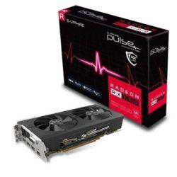 VGA ATI RADEON SAPPHIRE RX580 8GB GDDR5 PULSE DESPRECINTADO