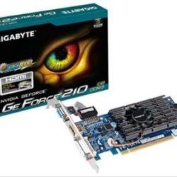 VGA GIGABYTE GEFORCE 210 1GB DDR3 LP Desprecintada