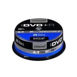DVD+R 4.7GB 16XSPEED PRINTABLE CAKE BOX 25