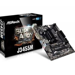 PLACA ASROCK J3455M INTEL QUAD CORE SUPER ALLOY