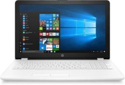 "PORTATIL HP 15-BS006NS I3-6006U 4GB 500HD 15.6"" W10H BLANCO DESPRECINTADO"