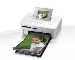 CANON SELPHY CP1000 WHITE PHOTO PRINTER·
