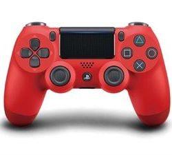 MANDO PS4 DUAL SHOCK 4 MAGMA ROJO