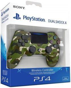 MANDO PS4 DUAL SHOCK 4 VERDE CAMUFLAJE
