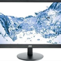 "MONITOR LED 23.6"" AOC E2470SWH HDMI MMDIA"