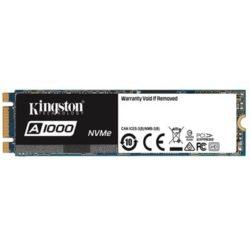 SSD M.2 2280 240GB KINGSTON A1000 NVME PCIe R1500/W800 MB/s