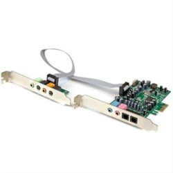 TARJETA DE SONIDO PCI-E 7.1 24BITS STARTECH