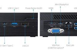 """BAREBONE ASUS PN40-BB015MV J4005  DDR4 SO-DIMM HDD/SDD 2.5"""" VESA"""