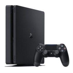CONSOLA SONY PS4 SLIM 1TB BLACK + 1 MANDO ADICIONAL