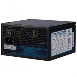 FUENTE ATX 500W COOLBOX BASIC500GR (20+4PIN)