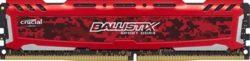 MODULO DDR4 16GB 3200MHZ CRUCIAL BALLISTIX SPORT RED