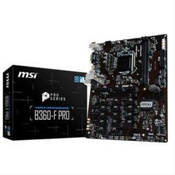 PLACA MSI B360-F PRO (MODELO MINING)·