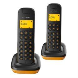 TELEFONO ALCATEL  D135 DUO BLACK ORANGE·