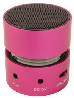 URBAN FACTORY ALTAVOZ MINI BLUETOOTH 3W ROSA·