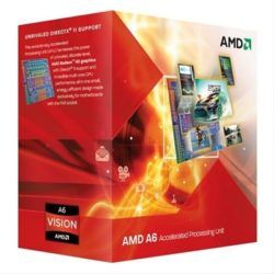 AMD A6 3500 2.1GHZ FM1 3MB BOX DESPRECINTADO