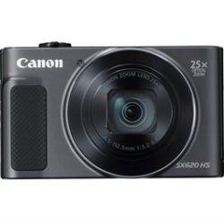 CAMARA CANON POWERSHOT SX620 HS BLACK 20.2MP-SD 16GB + FUNDA·DESPRECINTADO