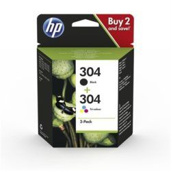 HP 304 INK CARTRIDGE            COMBO 2-PA·