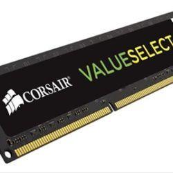 MEMORIA RAM CORSAIR VALUE SELECT 8GB PC4-170·