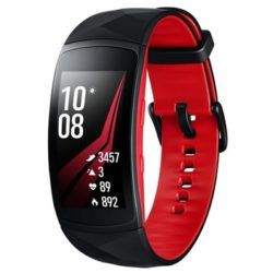 SMARTWATCH SAMSUNG GEAR FIT 2 PRO ROJO·DESPRECINTADO
