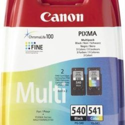 TINTA CANON PACK 540 NEGRO Y 541 COLOR