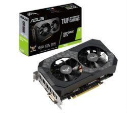 VGA ASUS GEFORCE GTX TUF GAMING1660 6GB GDDR5