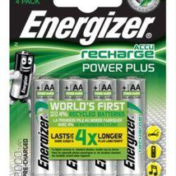 BLISTER 4 PILAS RECARGABLES POWER PLUS POTEN·