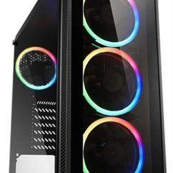 CAJA ATX SHARKOON TG4 RGB 2XUSB3.0 SIN FUENT·