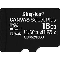 MEMORIA MICRO SD 16GB XC1 C10 A1 KINGSTON