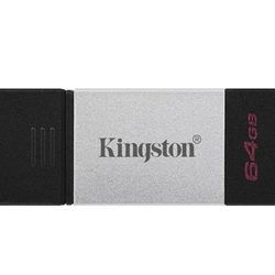 PEN DRIVE 64GB KINGSTON DT80 USB3.2 TYPE-C
