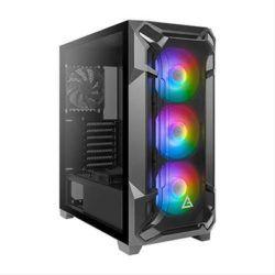 SEMITORRE ANTEC DF600 FLUX USB3.0 RGB CRISTA·