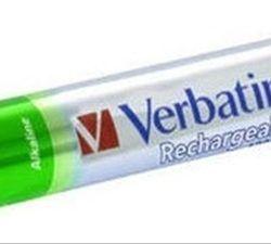 VERBATIM AAA RECHARGEABLE BATTERIES      4 P·
