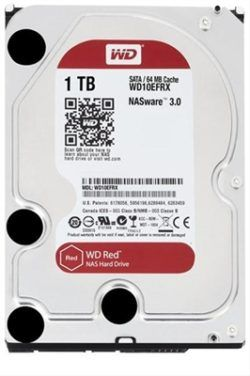 """HD 3.5"""" WESTERN DIGITAL 1TB SATA 3 RED-DESPRECINTADO"""